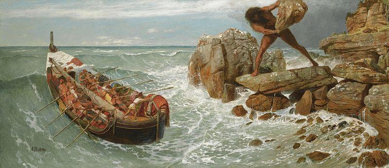 800px-Arnold_Böcklin_-_Odysseus_and_Polyphemus