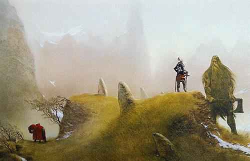 john_howe_knights and dragons_sir gawain and the green knight_med